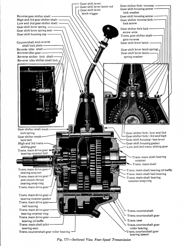 model a trans diagram new four speed transmission for model    aa    truck model a garage  model    aa    truck