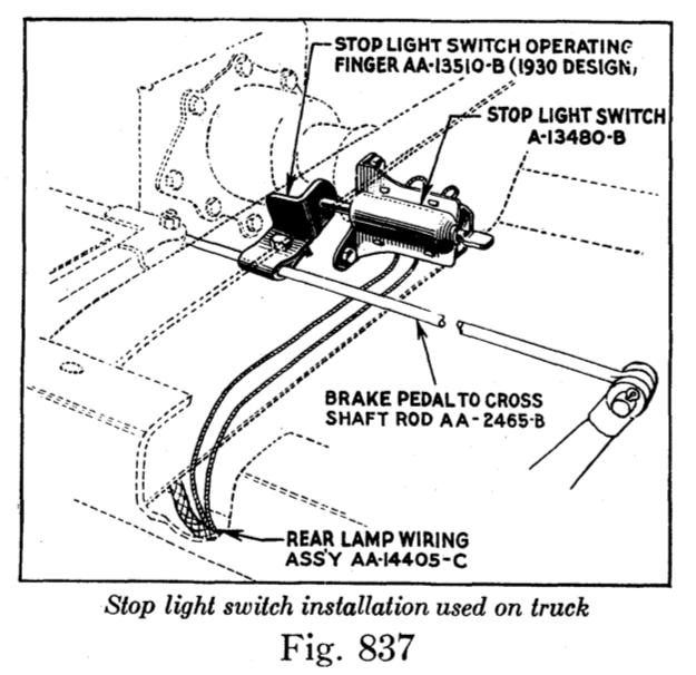 New Stop Light Switch